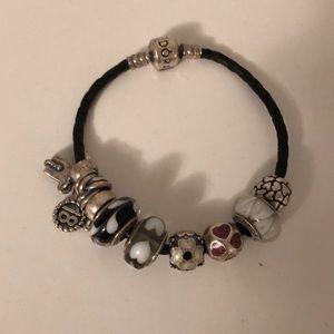 Black Pandora Bracelet